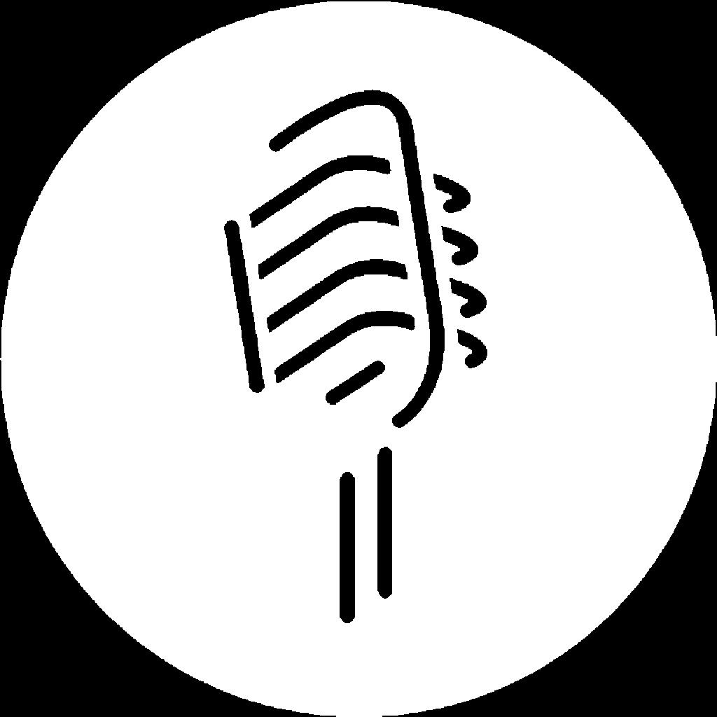 Advocacy 31:9 Microphone Logo